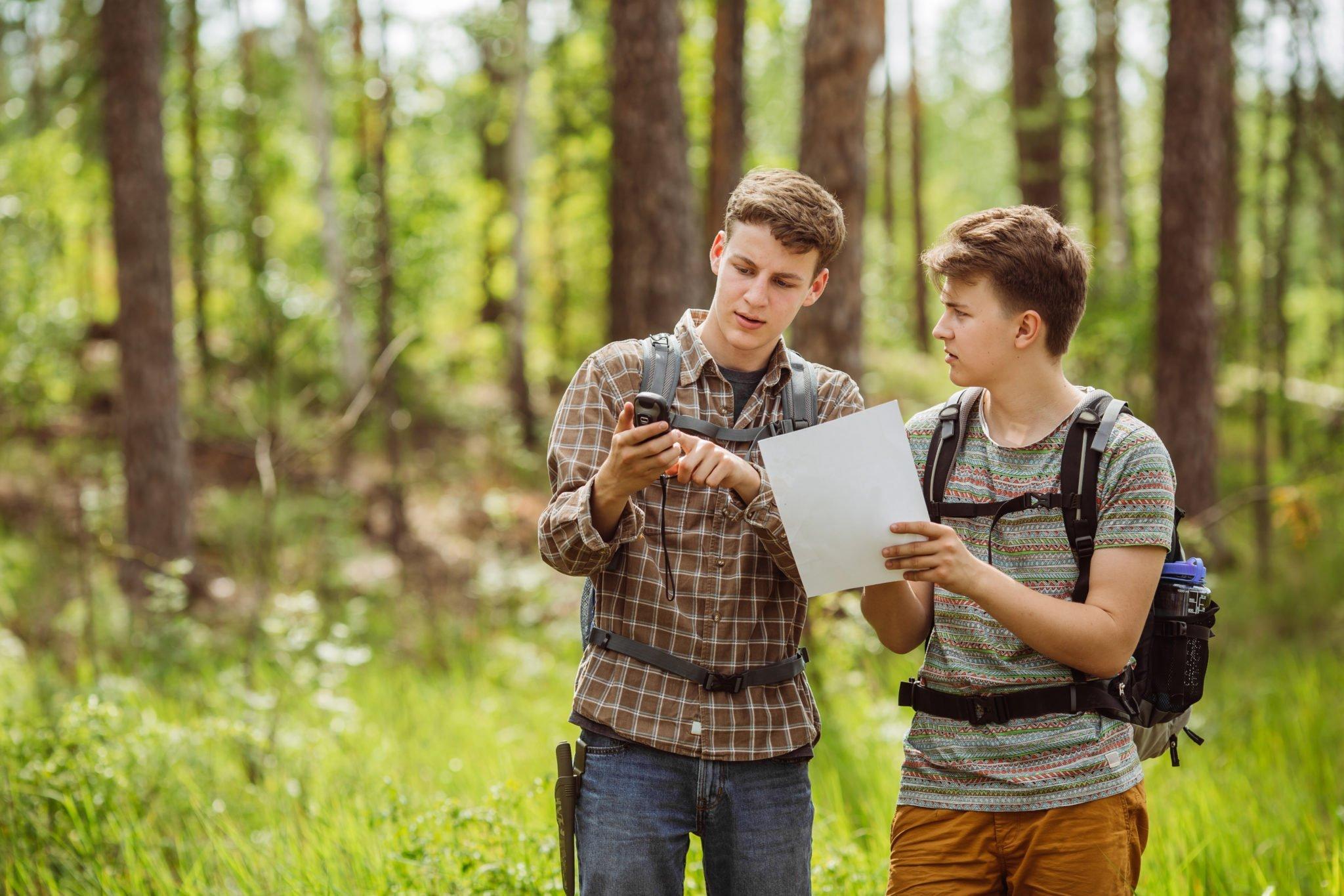 Geocaching is de ideale activiteit om samen met de kinderen te doen
